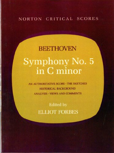 Symphony No. 5 in C Minor (Norton Critical Scores)
