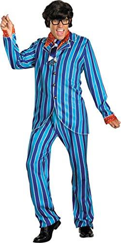 Morris Costumes Men's AUSTIN POWERS CARNABY SUIT, 50- - Austin Powers Suit