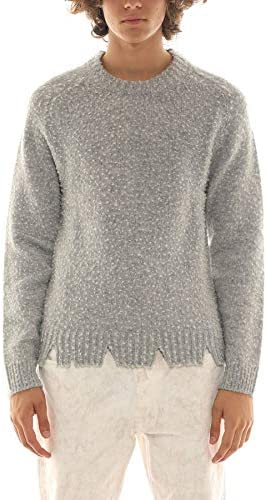 MAISON MARGIELA Luxury Fashion Uomo S50GP0160S16780857M Grigio Lana Maglione | Autunno-Inverno 20
