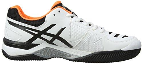 Flash 10 Gel Scarpe Uomo Onyx Clay 199 Challenger Orange Sportive Asics White qzn6ff