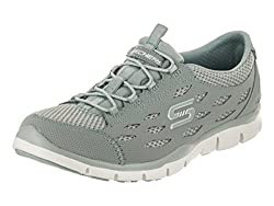 Skechers Womens Gratis - Breezy City Sneaker, Sage, Size 8.5