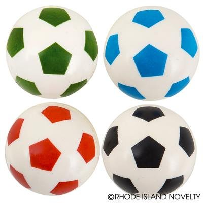 RIN001 1UNIT, 1'' SOCCER BOUNCING BALL by RIN001