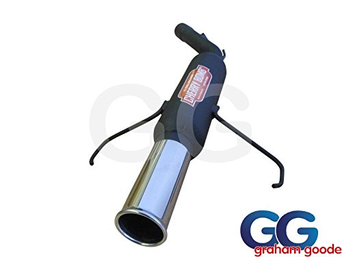 Cherry Bomb TBCORSABLK Exhaust Back Box Cherry Bomb Made To Fit Black