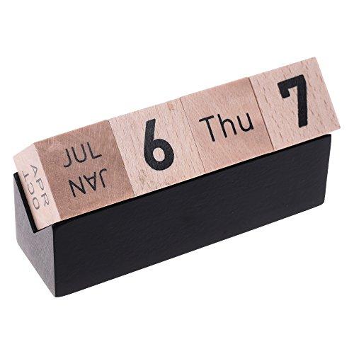 Creative Perpetual Calendar Desktop Decoration
