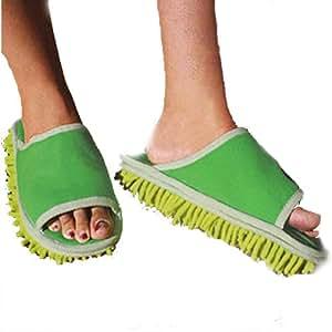 Pantuflas de limpieza para el suelo