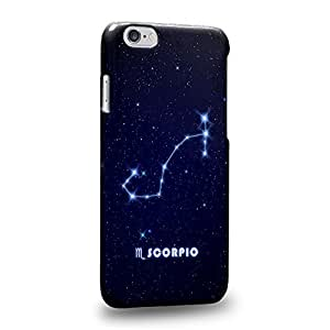 """The most popularThe 12 Zodiacal Constellations Scorpio zodiacal signs Protective Snap-on Hard Back Case Cover for Apple iphone 6 4.7"""""""