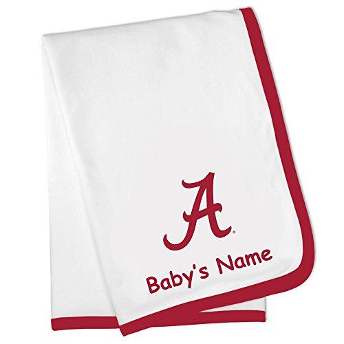 (Future Tailgater Alabama Crimson Tide Custom Personalized Baby Blanket)