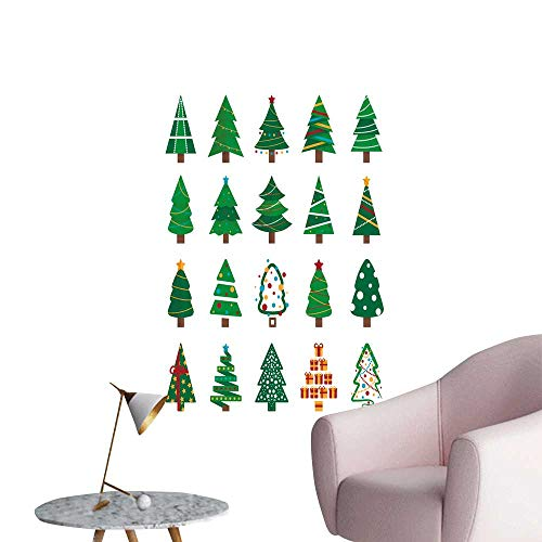 - SeptSonne Wall Decals Tree Set be use for Greet car Invitation Environmental Protection Vinyl,24