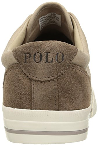 Polo Ralph Lauren Mænds Vaughn Lace-up Sneaker Mørk Tan 0JlIu6Z7V