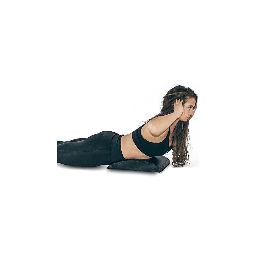 Iron Bull Strength Abdominal Mat for Full Range of Motion Crunches Exercise Ab Mat Sit Up Support Pad Abdominal Trainer