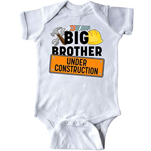 inktastic Big Brother Under Construction Infant Creeper 12 Months White