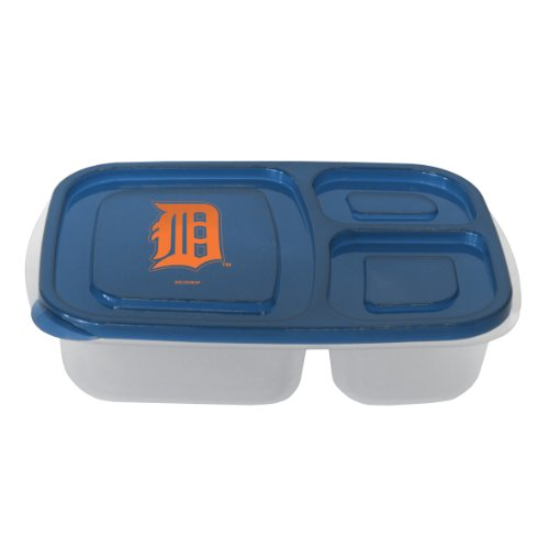 Detroit Box Lunch Tigers (MLB Detroit Tigers Lunch Container with Lid)