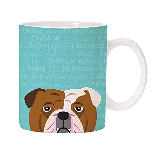 Adorable English Bulldog Puppy (Adorable Dog Breed Specific 11oz Ceramic Coffee Mug (English Bulldog))