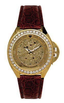 Aqua Master Men's Fancy Diamond Watch, 7.25 ctw by Aqua Master