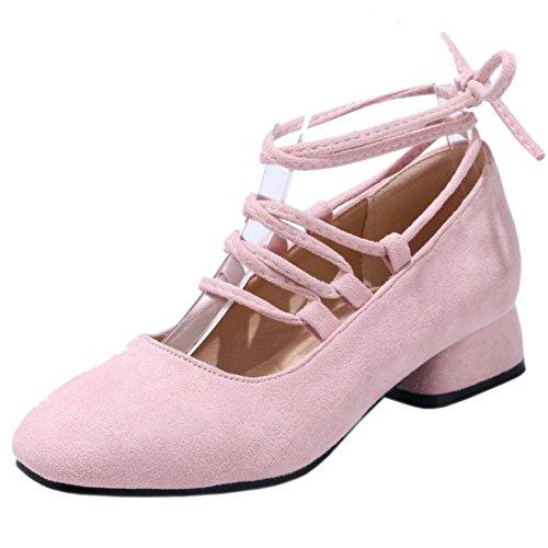 Pumps Up Pink Lace KemeKiss Women 7Rqw6xZ