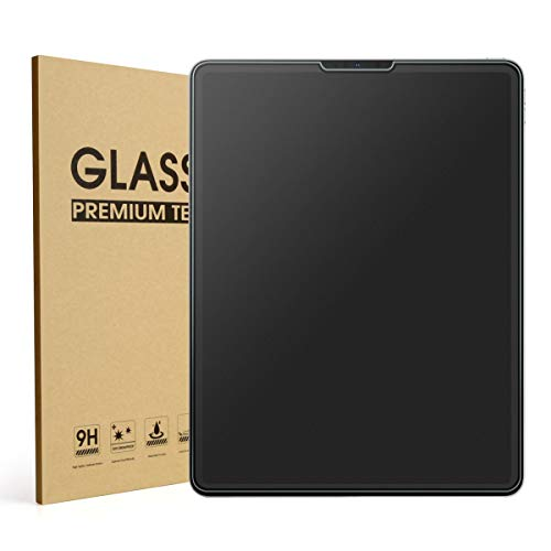 Mothca Matte Screen Protector for iPad Pro 11 inch 2018, Anti-Glare & Anti-Fingerprint No Dazzling 9H Hardness HD Tempered Glass Shield Film for iPad Pro 11