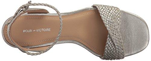 Pour La Victoire Women's Hazel Dress Sandal Silver UsVYrdZra