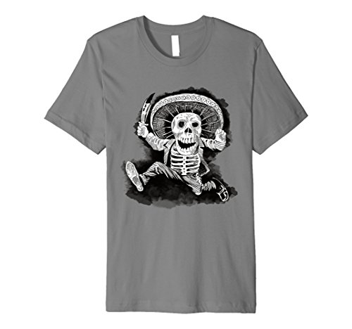 Men's Mexican Mad Mariachi Day of the Dead Small Slate