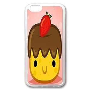 Case For Iphone 6, Cute Cartoon YTSOOP(TM)iPhone 6 Plus Case Transparent kawaii Food Fruit design by icecream design