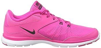 Nike Womens Flex Trainer 5 Running Shoe, Pink Powanthracitepink Foilwhite - 10 B(m) Us 5