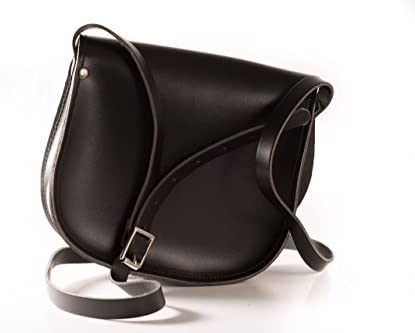 A to Z Leather, Borsa a tracolla donna Nero Nero opaco