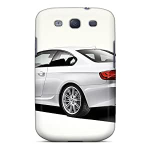 For SamSung Galaxy S4 Mini Case Cover (white Bmw 330d)