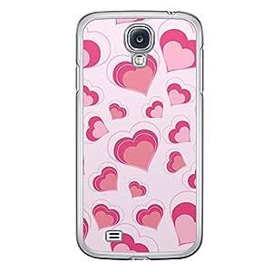 Loud Universe Samsung Galaxy S4 Love Valentine Printing Files A Valentine 117 Printed Transparent Edge Case - Pink