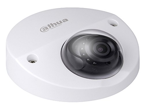 Vandal Wedge - Dahua Pro 4MP IR Vandal Wedge Dome Network Camera with 2.8mm F2.0 Manual Lens