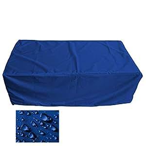 Muebles de Jardín Premium Funda Protectora/mesa de jardín Lona B 250cm x t 250cm x h 100cm Color Azul Oscuro