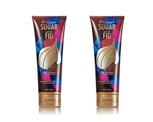 Bath and Body Works Brown Sugar & Fig Triple Moisture Body Cream 8 oz – 2 - Fig Cream