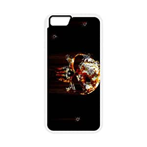Bloody The Punisher Skull Logo iPhone 6 Plus 5.5 Inch Cell Phone Case White yyfabc-373993
