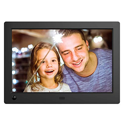 NIX Advance Digital Photo Frame 8 inch X08G Widescreen. Electronic Photo Frame USB SD/SDHC. Digital Picture Frame with Motion Sensor. Remote Control Included