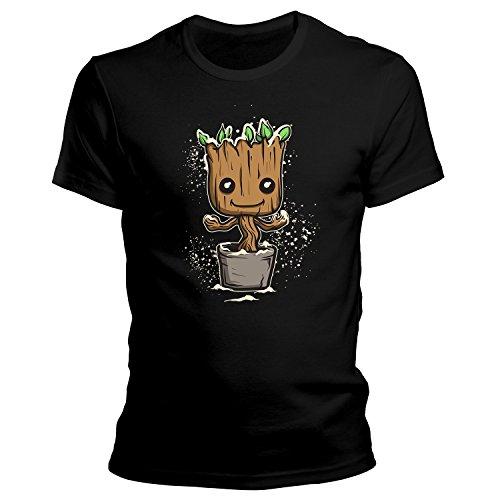 Z-Design Mini Baby Groot Xmas Christmas Weihnachten Winter Edition T-Shirt/ Größe ...