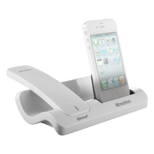 iCreation i-450 Docking Station für Apple iPhone weiß