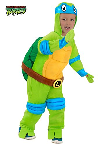 Princess Paradise PP4624PP-4 TMNT Deluxe Leonardo Costume For Toddler 4 (Halloween Costume Ideas For Toddlers)