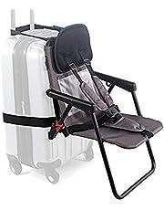 Think King SitAlong Toddler Luggage Seat, Gray