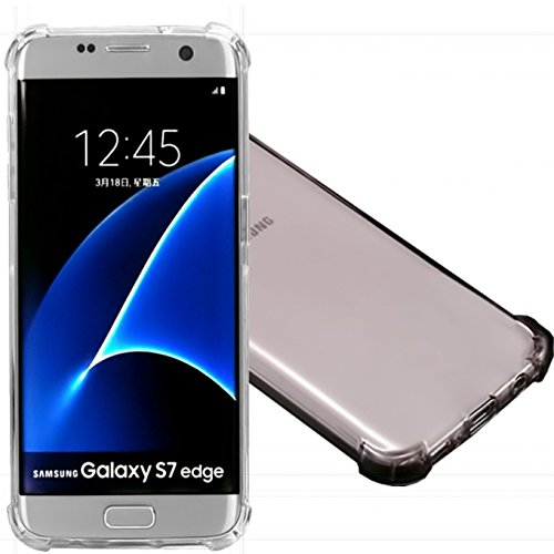 2Pack Galaxy S7 Edge Clear Case  Ibarbe Slim Fit Heavy Duty Protection Scratch Resistant Tpu Bumper Case Cover For Samsung Galaxy S7 Edge Not For S7