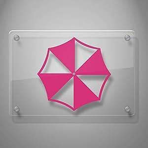 Amazon.com: Yoonek Graphics Umbrella Corporation calcomanía ...