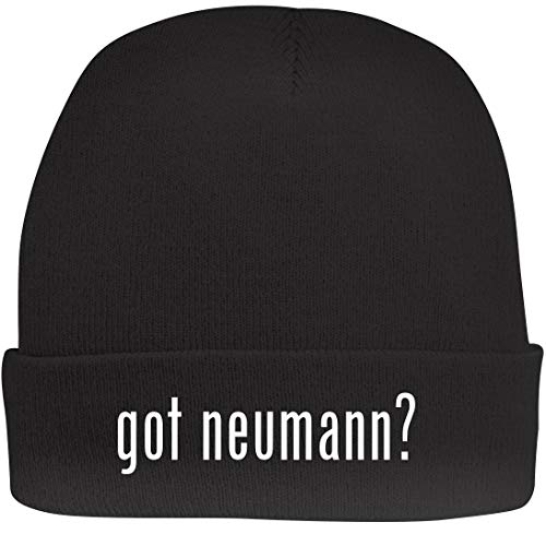 Shirt Me Up got neumann? - A Nice Beanie Cap, Black, ()