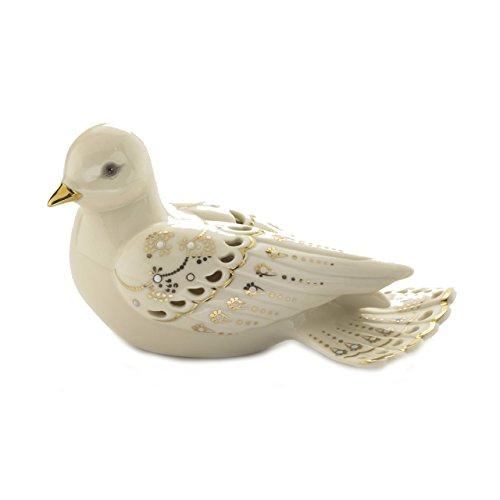 Lenox Classics Jewels of Light Dove Figurine
