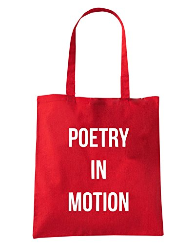 T-Shirtshock - Bolsa para la compra WC0532 Poetry In Motion LFC Rojo