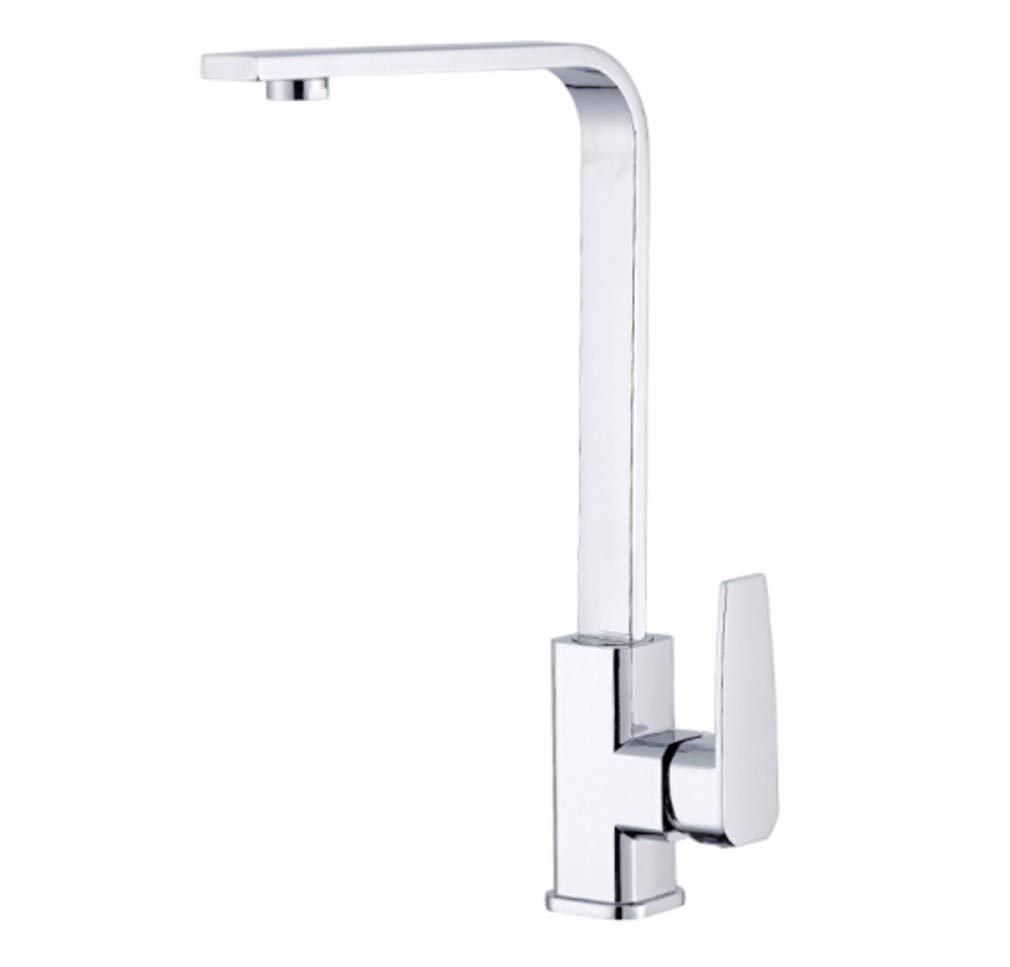Edelstahl Einhand Wasserhähne Küche Küchenhahn 360 Drehspüle Wasserhahn Sitzen Spülmaschöne Wasserhahn Heiß Und Kalt