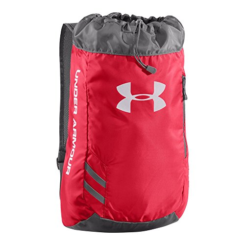 Under Armour Trance Sackpack, Red/Graphite, One Size