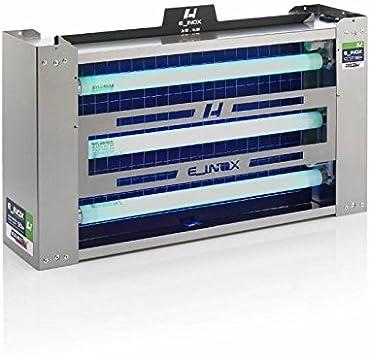 LT industrial Exterminador Insectos 200 m2 E_INOX Dual Light
