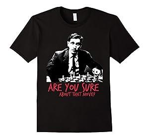 Chess player intimidation t-shirt