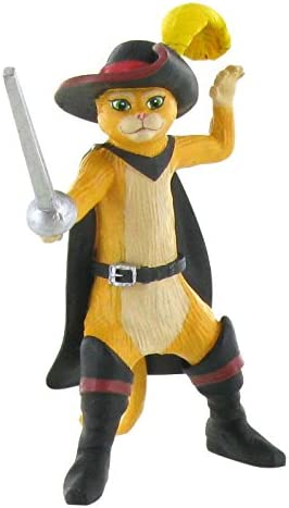 Figura Gato con Botas Shrek: Amazon.es: Juguetes y juegos