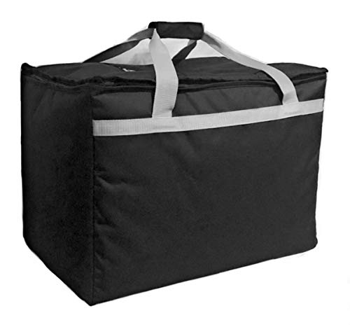 Candid- Insulated Food Delivery Bag (21L x 14W x 15H), Hot/Cold Thermal Lightweight Grocery, Catering, Delivery or Party Bag.