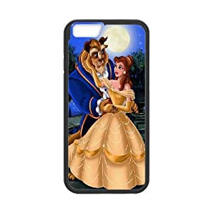 iphone6 plus 5.5 inch case , Disneys-Beauty-and-the-Beast iphone6 plus 5.5 inch Cell phone case Black-YYTFG-22971