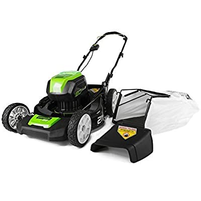 """(USA Warehouse) GREENWORKS GLM801600 80V 21"""" Cordless LAWN MOWER, Battery & Charger Not Included -/PT# HF983-1754406628"""