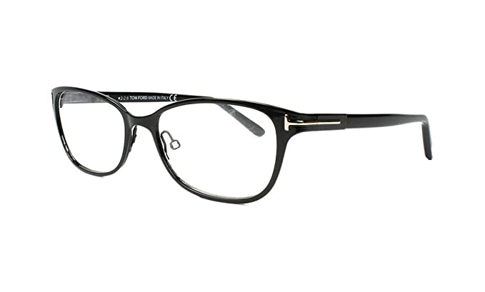 34edc2915c Image Unavailable. Image not available for. Color  TOM FORD Eyeglasses  FT5282 005 Black 52MM